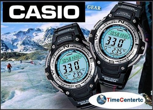 reloj casio sport sgw-100 termometro brujula cronometro alar