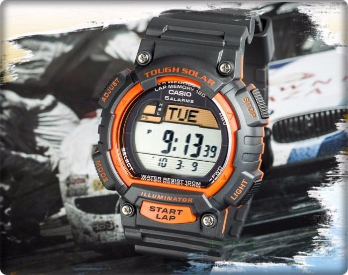 a2162f6d753a Reloj Casio Stl-s100h Solar Crono-alarma-temporizador Doble ...