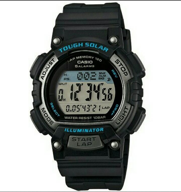 e8240b6a00b6 Reloj Casio Stls300 Energía Solar Dama 120 Lapsos Wr100m -   899.00 ...