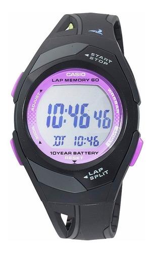 reloj casio str-300-1c cronógrafo alarma luz envío gratis
