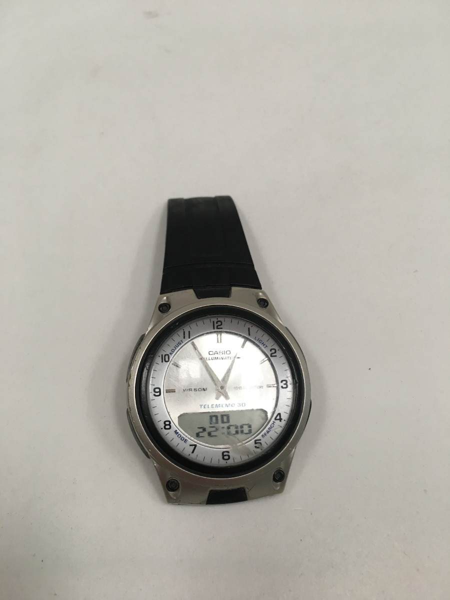 Casio Telememo Reloj 30 00 Mod2747detalle945 CxeEQrWdBo