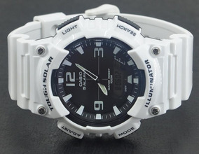7f303a176432 Reloj Casio Though Solar No Mas Pilas Negro Y Blanco