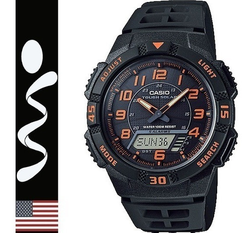 reloj casio tough solar aq-s800 digital analogo 100% origina