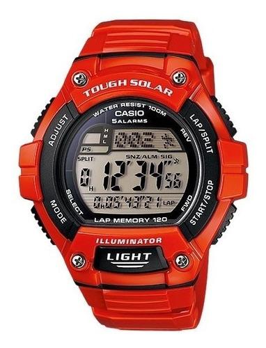 reloj casio tough solar chrono alarm  ws220c4avdf | original