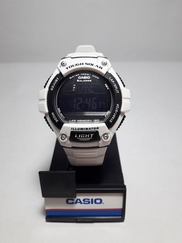 reloj casio tough solar w-s220c-7bv. nuevo. envío gratis