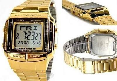 dca4f433af66 Reloj Casio Retro Db 360 Dorado Unisex Telememo Original -   128.900 ...