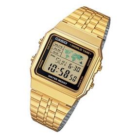 945aef592e03 Reloj Casio Vintage Hombre Dorado - Relojes Pulsera en Mercado Libre  Argentina