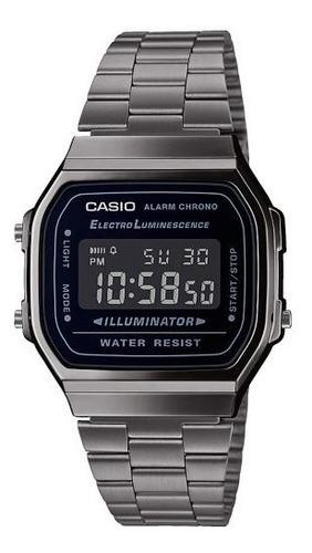reloj casio vintage a 168wgg 1b comercio oficial autorizado