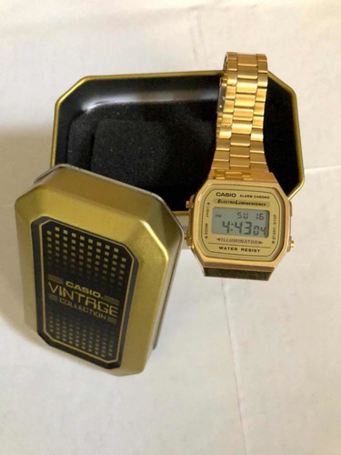 reloj casio vintage a168wg-9vt