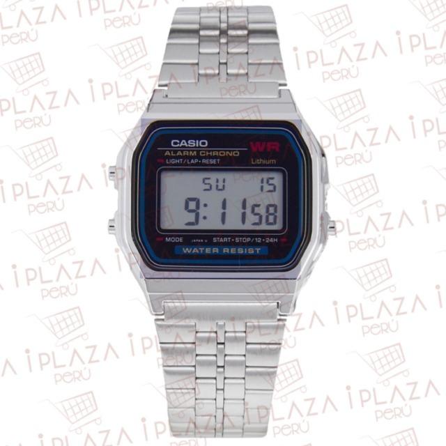 faad9f0a82b7 Reloj Casio Vintage B640 Plata - S  150