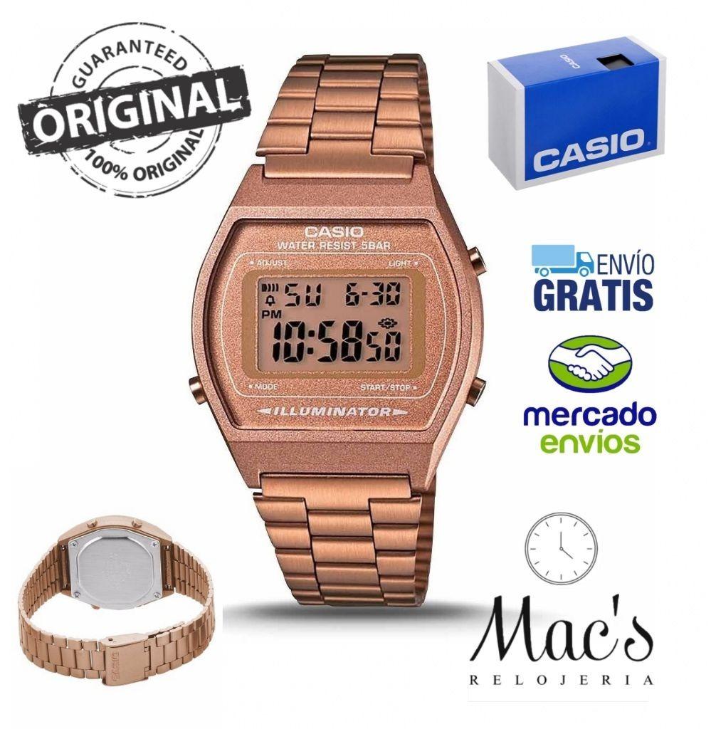 ebe8938141aa reloj casio vintage b640wc-5 cobre unisex resistente agua. Cargando zoom.