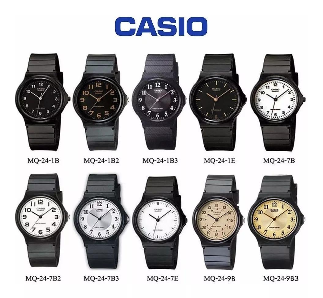 Vintage Mq 1b3 Casio 24 Reloj Clasico Original xBodeC
