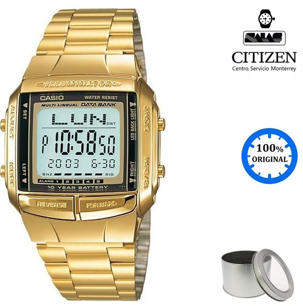 7d1f5c250628 reloj casio vintage db360 unisex dorado  watchsalas . Cargando zoom.