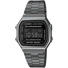 Reloj Casio Vintage Digital Gris A168wgg1bvt Unisex