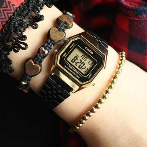 Reloj Digital Casio La680wegb Vintage Convinado m0wv8nN
