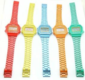 Vintage En Reloj Casio Varios Colores rdtshCQx