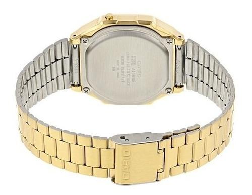 reloj casio vintage espejo a168wegm-9