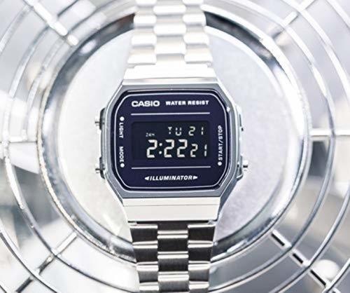 reloj casio vintage espejo a168wem-1