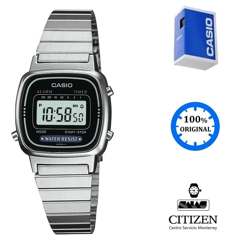 852e804bf2b2 Reloj Casio Vintage La670 Dama Acero  watchsalas  Full -   577.00 en ...