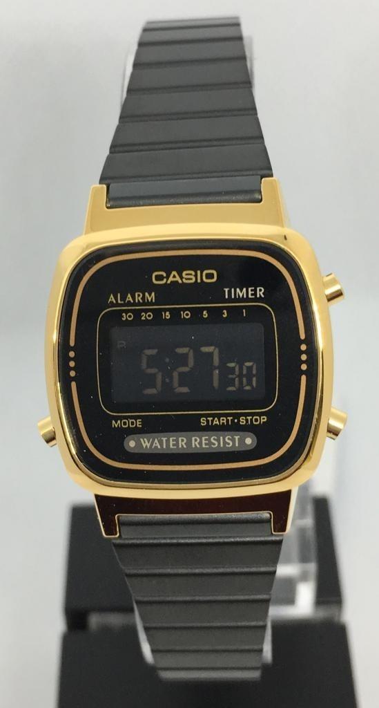 c85383ec9644 reloj casio vintage la670 mujer negro  watchsalas . Cargando zoom.