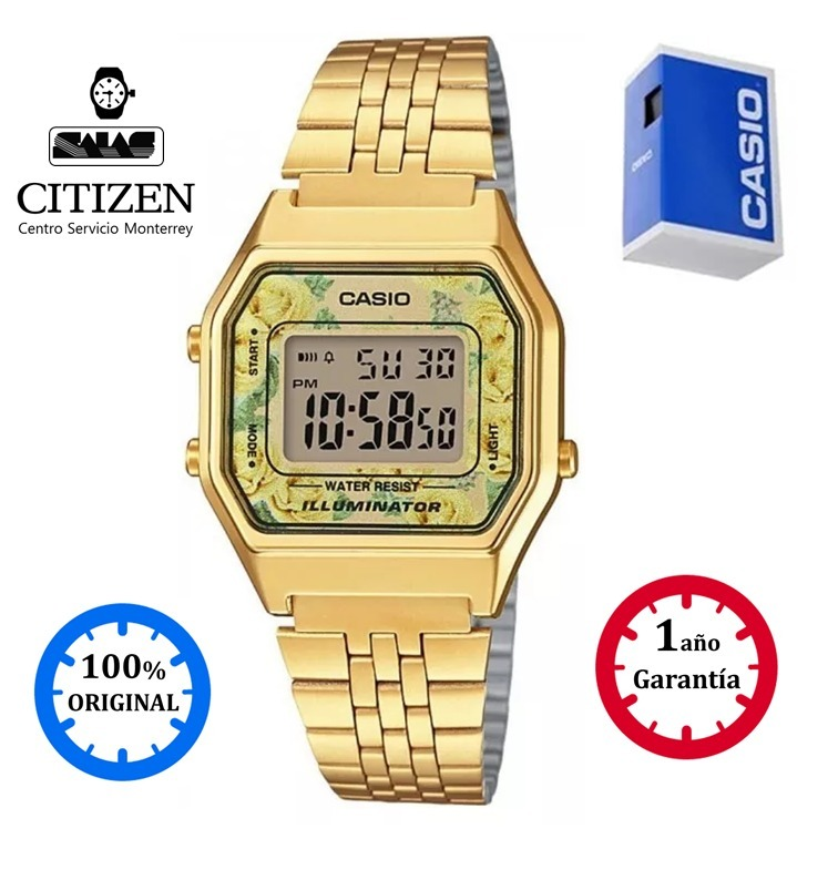 32af2544fc5a Reloj Casio Vintage La680 Mujer Dorado  watchsalas  -   1