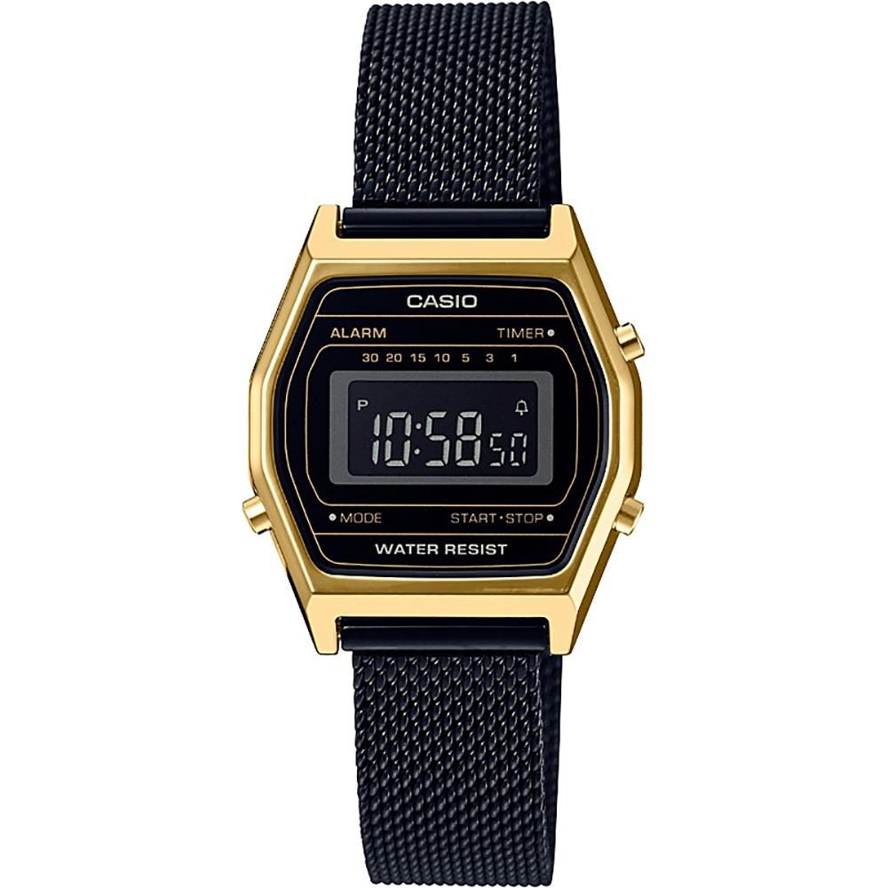 79c0d1d8f349 reloj casio vintage la690 mujer negro  watchsalas . Cargando zoom.