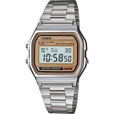 6b039d579913 Reloj Casio Vintage Metálico Plateado Caratula Dorada -   599.00 en ...