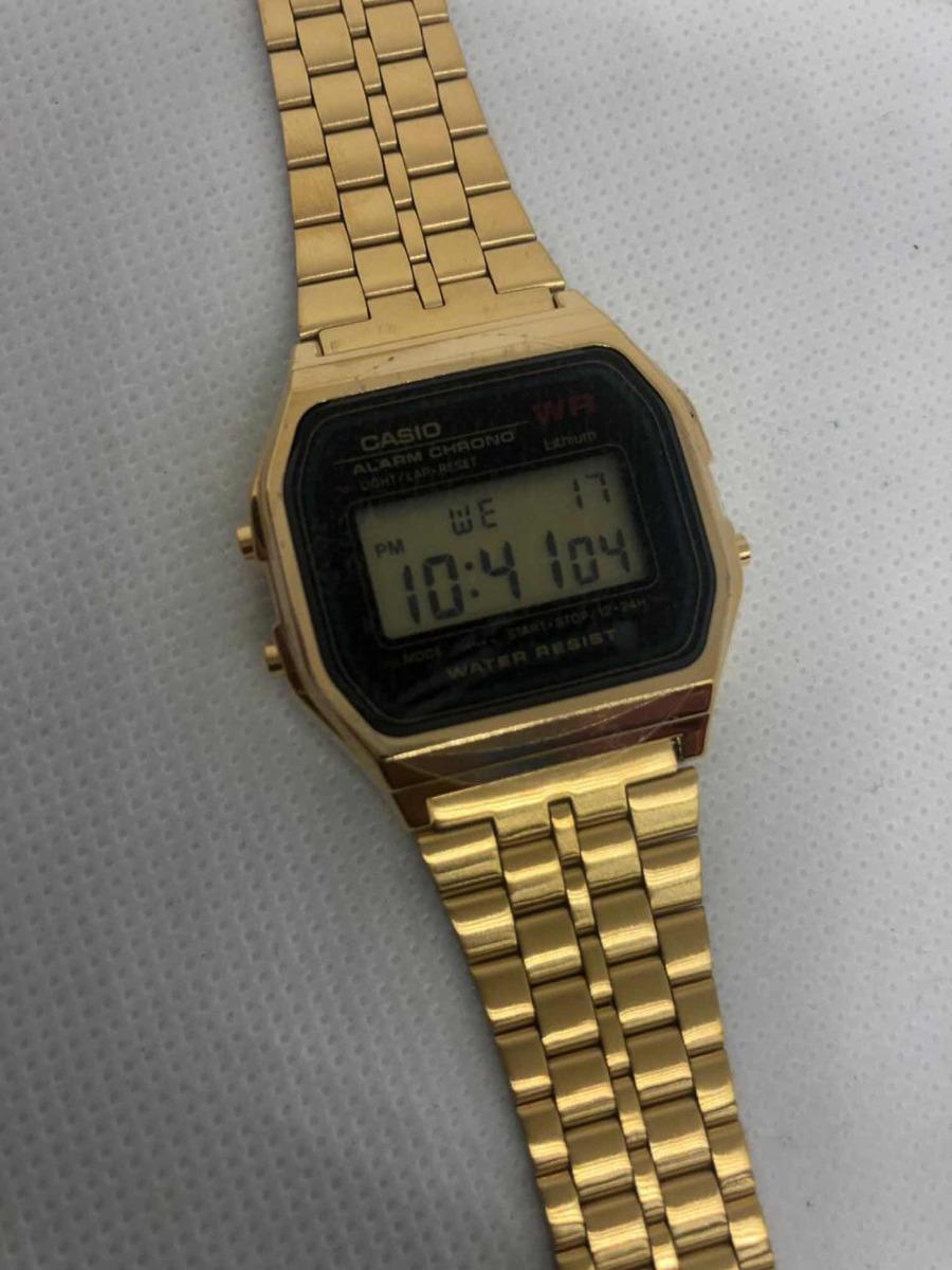 Modelo Casio Reloj Original Vintage A159 TJK3Fc1l