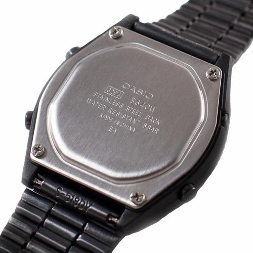 reloj casio vintage negro b640wb-1bv