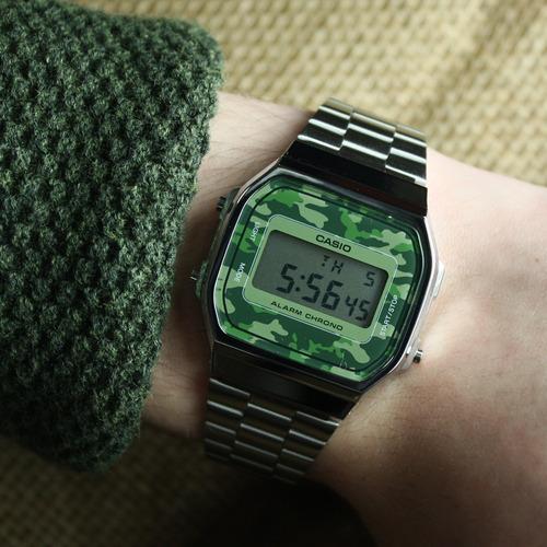 de8c67beff7 Reloj Casio Vintage Retro Camuflado A168wec Envió Gratis -   2.800 ...