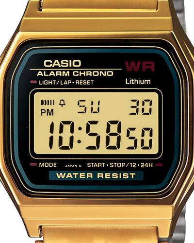 reloj casio vintage unisex-a159wgea-1vt