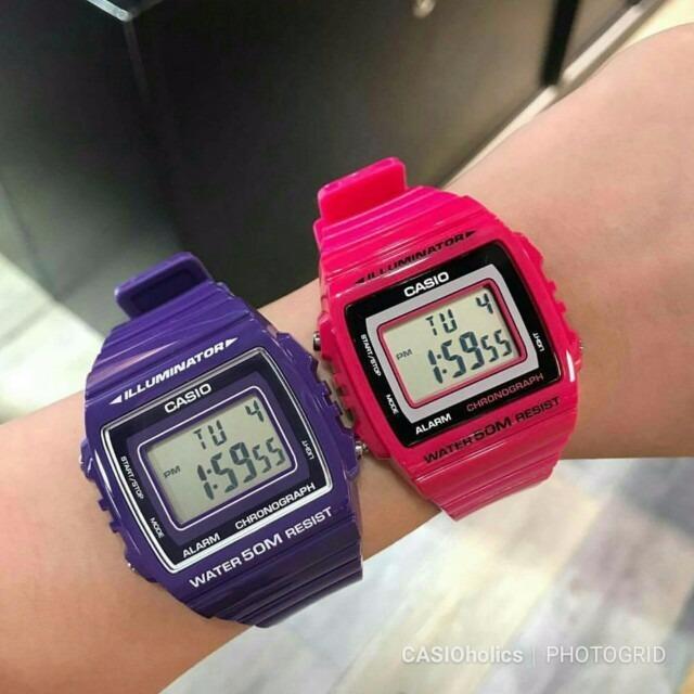 W 8av Reloj Casio 215h Original Nuevo D29IYHEW
