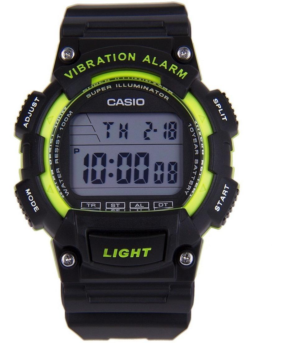 Reloj Wr Casio 100m W Sumer 736h Alarma 3av Vibracion Local ZuwkiTOXPl