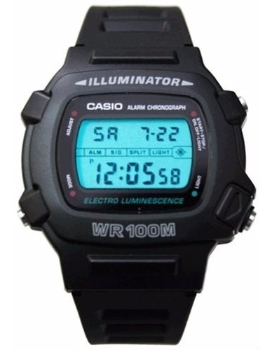 reloj casio w-740-1v originales local barrio belgrano