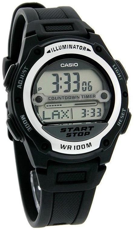Resistente Reloj Agua W 1av Original Casio 756 Temporizador 0mwvn8ON