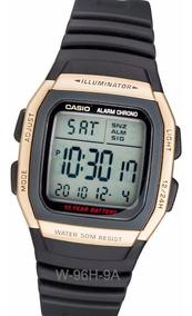 Alarmas Años 96h 10 Luz Pila 50m Cronometro Reloj Casio W Wr DH9IWE2