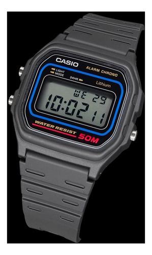 reloj casio w59 digital crono alarma original agente oficial