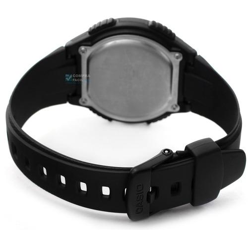 reloj casio w734 - cronómetro con 60 memorias - cfmx -