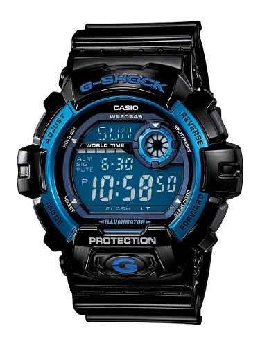 reloj casio wca802 negro
