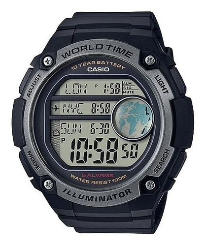 reloj casio world time ae-3000w-1avcf