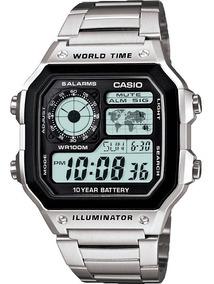 Time Reloj 1a Casio Modelo Sj World Ae 1200whd jqzVpLUGSM
