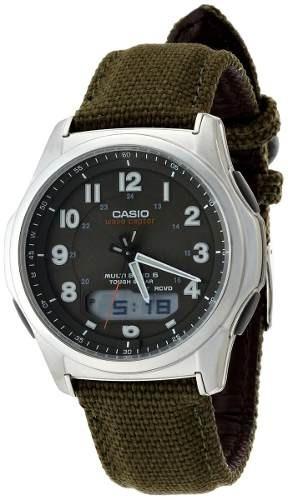 reloj casio  wva-m630b-3ajf verde
