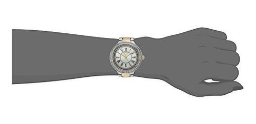 reloj casual catalina de cuarzo dorado juicy couture para