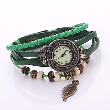reloj casual hoja bohemia