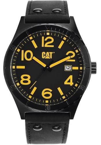 reloj cat analógico camden  negro