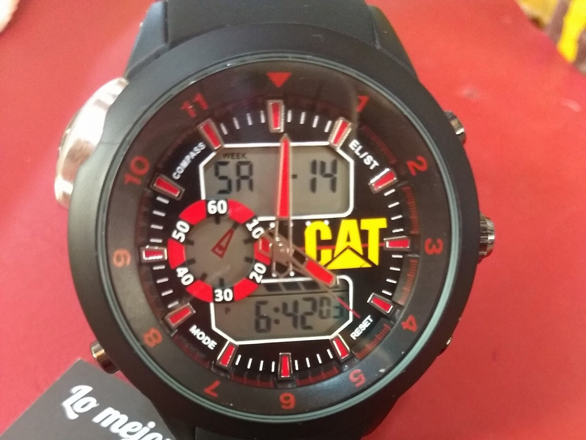 nuevo producto 974c9 38f05 Reloj Cat Caterpillar