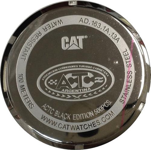 reloj cat caterpillar actc edicion especial agente oficial