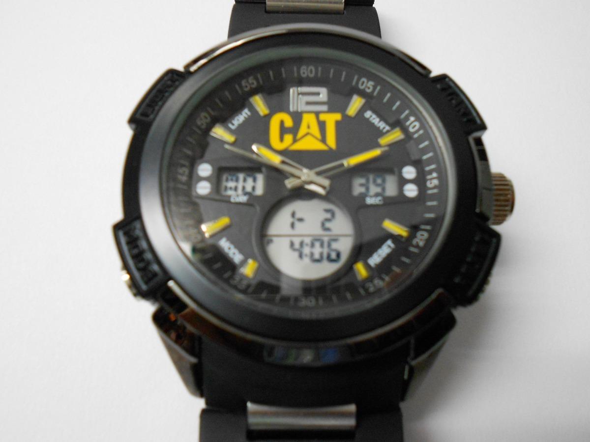 diseño atemporal 09668 98287 Reloj Cat Digital Y Analogo