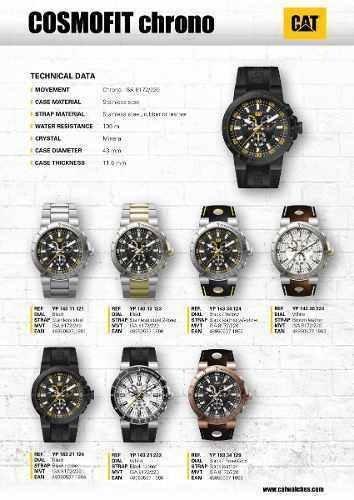 reloj cat hombre