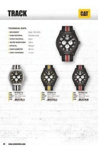 reloj cat hombre track 48 mm pp 149 65 134